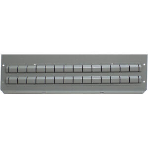 18 Rousseau Metal Gray 15 7 16 W X 4 3 8 T Cabinet Drawer Steel Partitions
