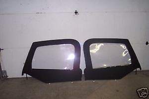 1997 2006 Jeep Wrangler Black Upper Doors Soft Top W Frames 79435 And 79535