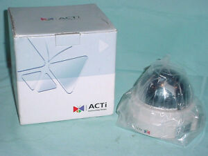 Tcm 3111 H 264 Acti Indoor Fixed 2 8mm Ip Dome Camera Poe Security Motion Alarm