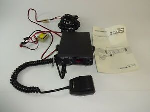 Vintage Realistic Trc 438 40 Channel Cb Radio Mic W Manual Mount
