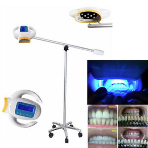 50w Dental Bleaching Machine Teeth Whitening Light Cold Led Lamp 3d Shade Guide