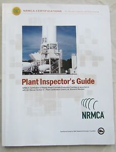 National Ready Mix Concrete Assoc Nrmca Certifications Plant Inspector s Guide
