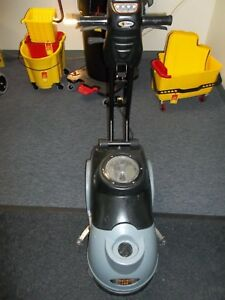 Used Triple S Panther 15b Micro Floor Scrubber Battery Operated Brush Squeegee