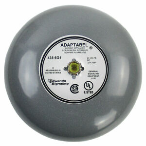 new Edwards 435 6g1 6 Inch Dc Vibrating Bell