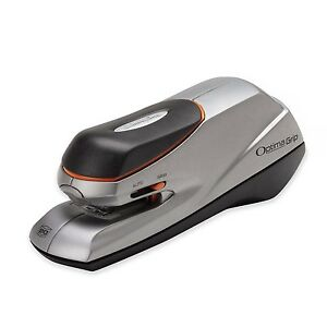 Swingline Electric Stapler Optima Grip Dual Power 20 Sheet Capacity Silver s