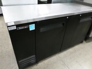 Turbo Air Back Bar Cooler Tbb 3sb Black Vinyl Sides Stainless Top 69 Wide