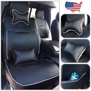 Us Car Seat Cover For Dodge Ram 1500 2500 2009 2018 Custom Fit Front Rear Set