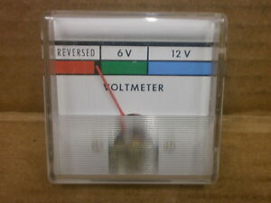 Christie Battery 6 12 Volts Test Meter 537712 003