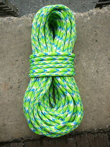 Sterling 24 Strand Arborist Rope Tree Climbing Line 7 16 X 95 Tendril Green