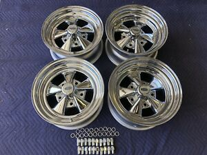 New Set Cragar Ss 15x7 15x8 5 X 5 1 2 Bolt Pattern Ford Pickup Complete F100