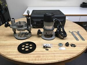 Porter cable 693lrpk 1 3 4 Hp Fixed Router Plunge Base Kit