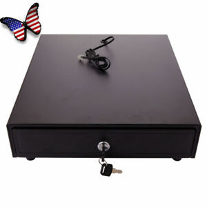 Cash Register Drawer Box 4bill 5 Coin Works Compatible Epson star Pos Printers