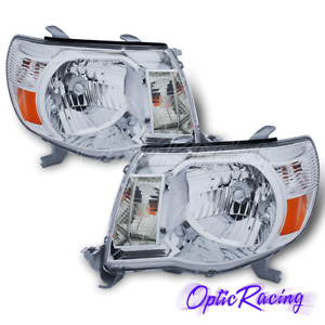 For 2005 2006 2007 2008 2009 2010 2011 Toyota Tacoma Trd Style Chrome Headlights