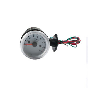 2inch 52mm Universal Durable 0 8000rpm Blue Led Car Tachometer Tacho Gauge Meter