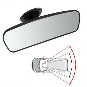 Auto Car Rear View Wide Angle Convex Curve Rearview Mirror With Sucker