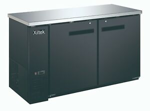 New Xiltek 60 Two Door Back Bar Refrigerator