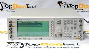 Hp Agilent Keysight E4433a Esg d Signal Generator Options 1e5 Un4 Warranty