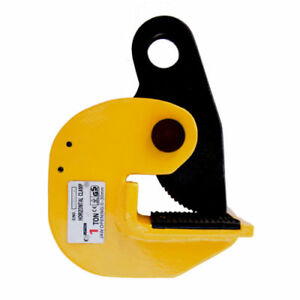 V lift Industrial Horizontal Plate Lifting Clamp Steel 3527 Lbs Wll 1 6t