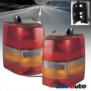 1993 1998 Jeep Grand Cherokee Tail Lights Replacement Lamps Pair