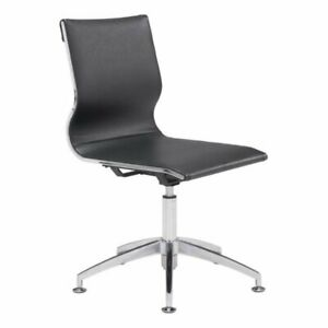 Brika Home Conference Chair In Black