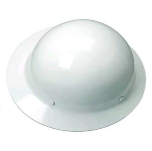 Msa Safety 454665 Skullgard Full brim Protective Hat Medstaz on Suspension White