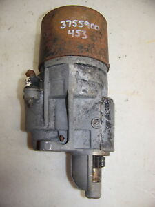 1974 Dodge Dart Challenger Plymouth Barracuda Duster Starter Oem 3755900