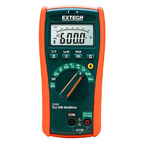 Extech Ex363 Trms Hvac Multimeter Cat Iv 11 Func W ncv Temperature