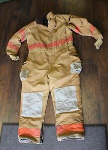 Bodyguard Division Of Lion Apparel Firefighter Coverall Medium Large Xlarge