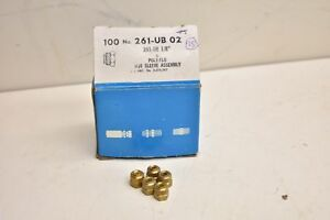 Imperial Eastman 261 ub 02 Poly flo Nut Sleeve Assembly Box Of 95