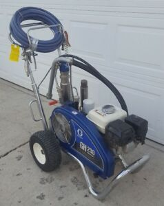 Graco Gh230 Convertible Hydraulic Airless Paint Sprayer gas