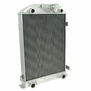 4 Row Aluminum Radiator For 1930 1931 Ford Model A Flathead Engine 28 Height Dt