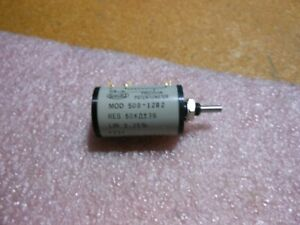 Spectrol Variable Resistor 500 1282 Nsn 5905 01 073 8941 Mod 500 1282