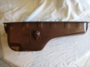 1950s Dodge Truck Oil Pan 230 Ci 6 Cyl Front Sump New N O S
