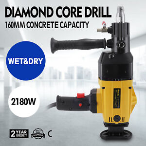 6 Diamond Core Drill Concrete Drilling Machine Safe Rock New Strong Packing