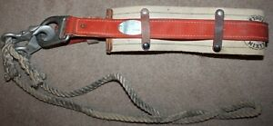 Vintage Klein Tools 1982 Climbing Tool Belt Utility Model 5480 2 Medium 1977 Usa