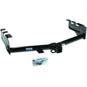 Reese Trailer Hitch Class Iii iv 2 Round Tube Black Professional Receiver Ea