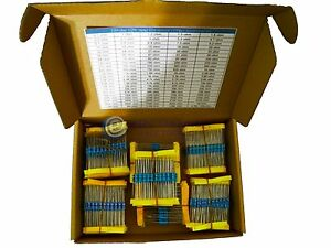 2 Boxes 110value 1 2w Metal Film Resistor 1100pcs Box Kit