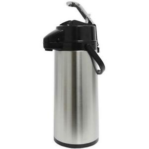 American Glass Stainless Lined Lever action 2 2 Liter Airpot Aps22s