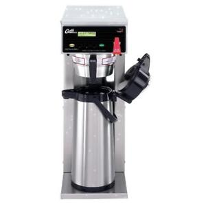 Curtis D500gt12a000 Automatic Airpot Coffee Brewer With Digital Controls 120v 1