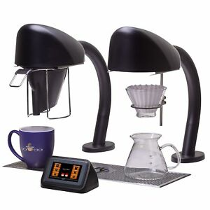 Curtis Sera2b Seraphim Twin Black Single Cup Undercounter Coffee Brewer
