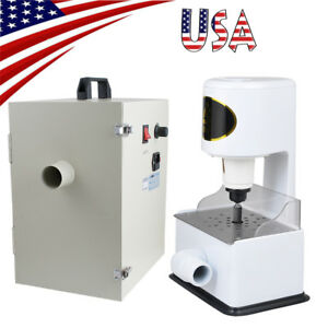 Usa Dental Digital Dust Collector Vacuum Equipment Grind Inner Model Trimmer