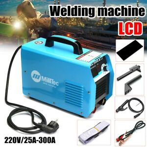 300 Amp Compact Electrode Inverter Welding Machine With Digital Ampermeter Lcd G