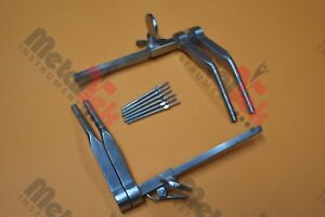 Caspar Cervical Distractor Set With Screws Neurosurgical Orthopedic Instruments