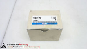Smc Vr51 c06b Push Button Pneumatic Manual Control Valve 6mm Port New 252248
