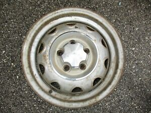 1 Dodge Mopar Rally Wheel 14 X 5 5 Large 5 Lug On 4 5 Center Cap 71 74