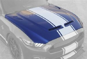 2015 2017 Ford Shelby Mustang Super Snake Hood W Vents