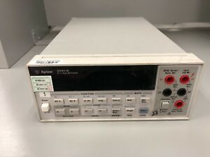 Hp Agilent Keysight 34401a 6 5 Digit Digital Multimeter Gpib Rs 232 Calibrated
