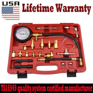 Car Petrol Diesel Fuel Injection Pump Pressure Injector Tester 0 140 Psi New