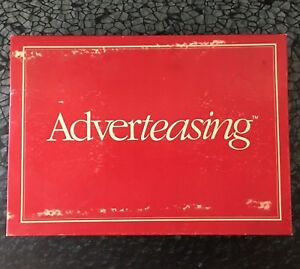 Adverteasing Board Game by Cadaco Classic Game of Commercials Slogans  $19.00