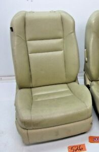 2005 05 Tsx Acura Passenger Front Seat Seats Bucket Tan Leather Oem Right Car Rf